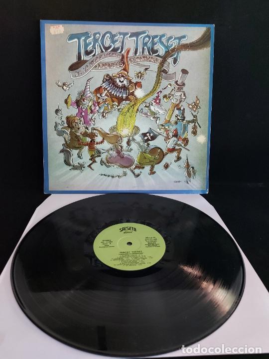 TERCET TRESET DE LA VILA DE GRÀCIA / DANSES D'ANIMACIÓ / LP - SALSETA DISCOS-1987 / MBC. ***/*** (Música - Discos - LP Vinilo - Otros estilos)