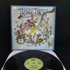 Discos de vinilo: TERCET TRESET DE LA VILA DE GRÀCIA / DANSES D'ANIMACIÓ / LP - SALSETA DISCOS-1987 / MBC. ***/***. Lote 274810148
