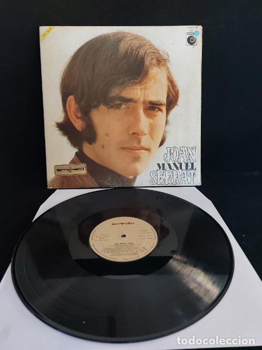 JOAN MANUEL SERRAT / MISMO TÍTULO / LP-GATEFOLD-NOVOLA-1969 / POSTER INTERIOR GIRADO / MBC. ***/*** (Música - Discos - LP Vinilo - Cantautores Españoles)
