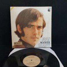 Discos de vinilo: JOAN MANUEL SERRAT / MISMO TÍTULO / LP-GATEFOLD-NOVOLA-1969 / POSTER INTERIOR GIRADO / MBC. ***/***. Lote 274814198