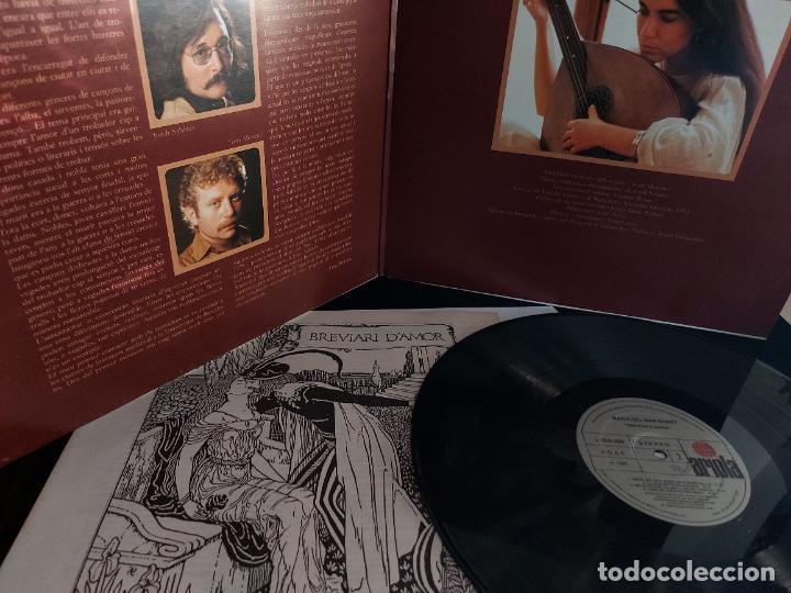 Discos de vinilo: MARIA DEL MAR BONET / BREVIARI DAMOR / LP-GATEFOLD - ARIOLA-1982 / MBC. ***/*** LETRAS. - Foto 2 - 274815533