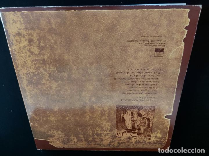 Discos de vinilo: MARIA DEL MAR BONET / BREVIARI DAMOR / LP-GATEFOLD - ARIOLA-1982 / MBC. ***/*** LETRAS. - Foto 3 - 274815533