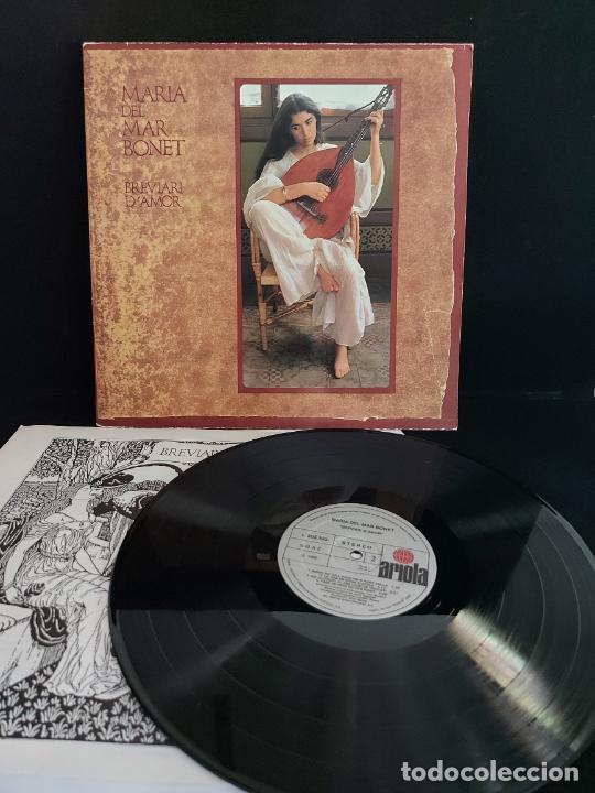 MARIA DEL MAR BONET / BREVIARI D'AMOR / LP-GATEFOLD - ARIOLA-1982 / MBC. ***/*** LETRAS. (Música - Discos - LP Vinilo - Cantautores Españoles)