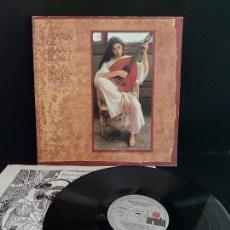 Discos de vinilo: MARIA DEL MAR BONET / BREVIARI D'AMOR / LP-GATEFOLD - ARIOLA-1982 / MBC. ***/*** LETRAS.. Lote 274815533