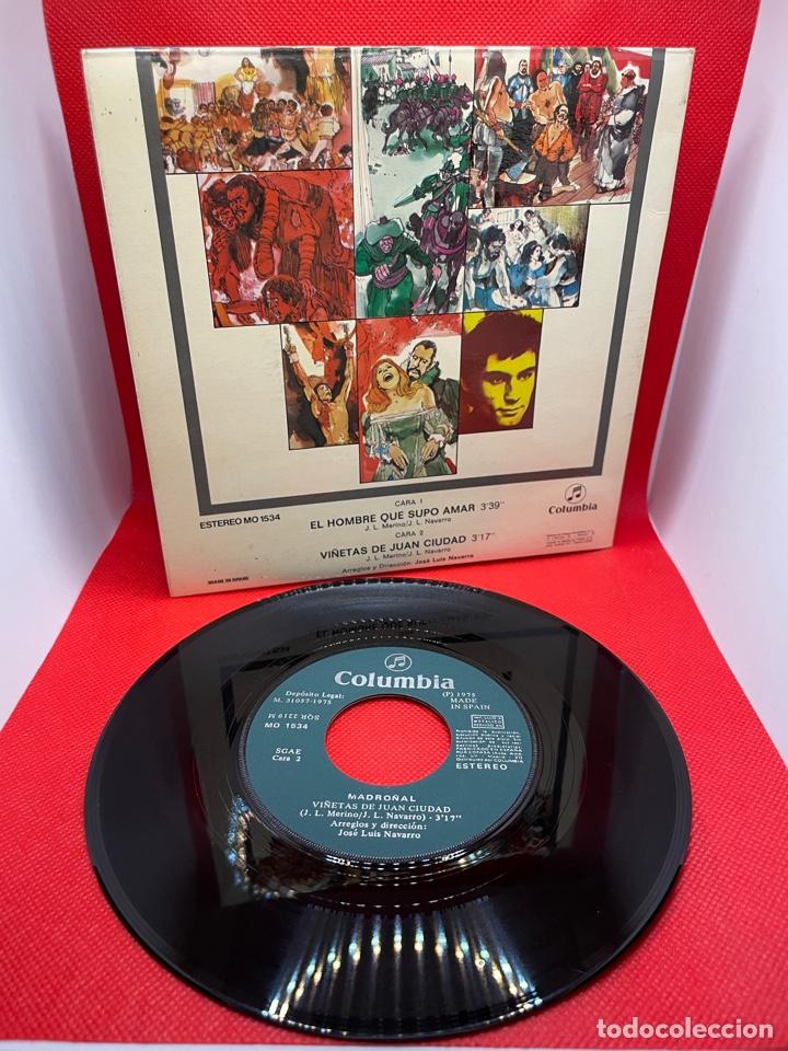 Discos de vinilo: MADROÑAL - B.S.O. EL HOMBRE QUE SUPO AMAR (Columbia, 1975) PROMO - PORTADA DOBLE - Foto 2 - 274825993