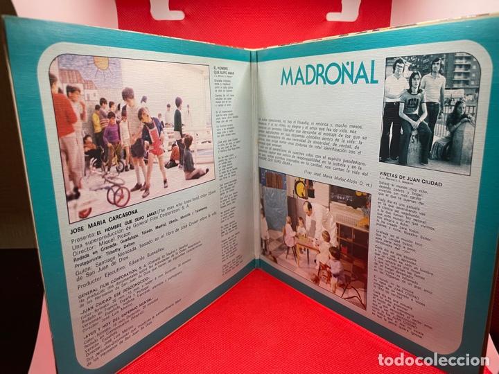 Discos de vinilo: MADROÑAL - B.S.O. EL HOMBRE QUE SUPO AMAR (Columbia, 1975) PROMO - PORTADA DOBLE - Foto 3 - 274825993