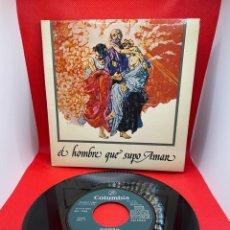 Discos de vinilo: MADROÑAL - B.S.O. EL HOMBRE QUE SUPO AMAR (COLUMBIA, 1975) PROMO - PORTADA DOBLE. Lote 274825993