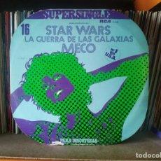Discos de vinilo: MECO - STAR WARS LA GUERRA DE LAS GALAXIAS. SUPERSINGLE DISCOTECAS. EDITADO POR RCA. AÑO 1.977. Lote 274826738