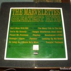 Discos de vinilo: MARVELETTES LP GREATEST HITS. Lote 274863248