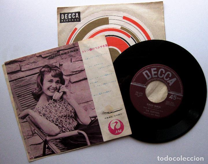 Discos de vinilo: The Surfaris - Karen / Sugar Shack - Single Decca 1965 Japan Japon Surf BPY - Foto 2 - 274873958