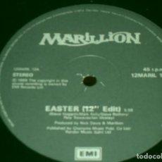 Discos de vinilo: MARILLION MAXI SINGLE EASTER. MADE IN UK. 1990. EMI. SOLO INCLUYE VINILO.. Lote 274882773