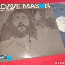 Discos de vinilo: DAVE MASON AT HIS BEST LP 1975 BLUE THUMBS ESPAÑA SPAIN EXCELENTE ESTADO. Lote 274888633