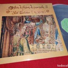 Discos de vinilo: JOSE LUIS GONZALEZ URIOL CLAVE MUSICA ANTIGUA ARAGONESA II VIEJO TECLADO S.XVIII LP 1978 MOVIEPLA EX. Lote 274891523