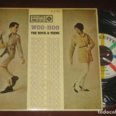 Discos de vinilo: THE ROCK A TEENS - ED ESPAÑOLA 1961 - MUY NUEVO. Lote 274937358