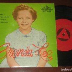 Discos de vinilo: BRENDA LEE - ED ESPAÑOLA 1959 - MUY NUEVO. Lote 274937518