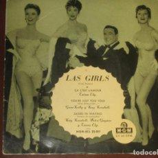 Discos de vinilo: LAS GIRLS - GENE KELLY - ED. ESPAÑOLA 1958. Lote 274937698