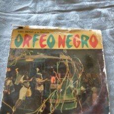 Discos de vinilo: DISCO VINILO JERRY MENGO Y SU ORQUESTRA ORFEO NEGRO BSO MUSICA PELICULA. Lote 274938533