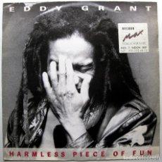 Discos de vinilo: EDDY GRANT - HARMLESS PIECE OF FUN - MAXI BLUE WAVE RECORDS 1988 UK BPY. Lote 275031433