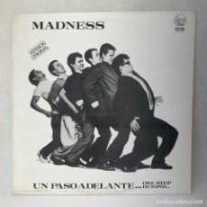 Discos de vinilo: LP - VINILO MADNESS - UN PASO ADELANTE... / ONE STEP BEYOND... + ENCARTE - ESPAÑA - AÑO 1980. Lote 275053558