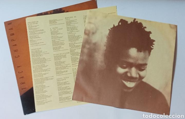 Discos de vinilo: LP TRACY CHAPMAN, VINILO DE DEBUT 1988, MUY BUEN ESTADO - Foto 2 - 275054183