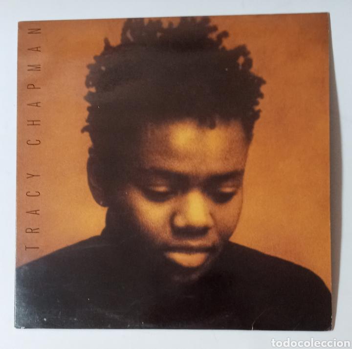 LP TRACY CHAPMAN, VINILO DE DEBUT 1988, MUY BUEN ESTADO (Música - Discos - LP Vinilo - Pop - Rock Internacional de los 90 a la actualidad)