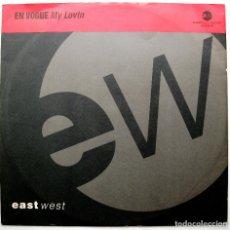 Discos de vinilo: EN VOGUE - MY LOVIN (EXTENDED) (3 VERSIONES) - MAXI EASTWEST RECORDS AMERICA 1992 UK BPY. Lote 275059908