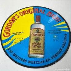 Discos de vinilo: LP - VINILO GORDON'S ORIGINAL NIGHT - RHYME BEAT - LAS MEJORES MEZCLAS EN VERSIÓN ORIGINAL- AÑO 1992. Lote 275064268