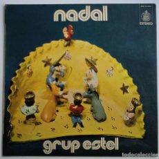 Discos de vinilo: GRUP ESTEL - NADAL LP 1973 PRIMERA EDICION EXCELENTES CONDICIONES -FOLK PSYCH CATALA. Lote 275066698