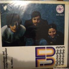 Discos de vinilo: FALSTERBO 3 - MONÓLOGO DEL TRABAJADOR (NM/VG+) - CATALÁ. Lote 275075798