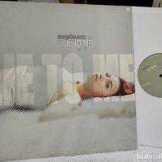 Discos de vinilo: EARPHONES/ LIE TO ME/ ESPAÑOL- NUEVO A ESTRENAR. Lote 275095898