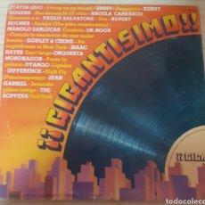 Discos de vinilo: ¡¡GIGANTISIMO!!!. Lote 275098623