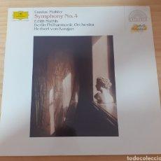 Discos de vinilo: GUSTAV MAHLER SYMPHONY NO4. Lote 275099028