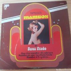 Discos de vinilo: PEREZ PRADO. Lote 275103843