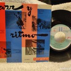 Discos de vinilo: FRANCISCO BORRELL/ JAZZ Y RITMO- PROMO 1963. Lote 275119263
