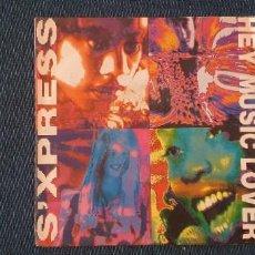 "Discos de vinilo: S'XPRESS* – HEY MUSIC LOVER LABEL: RHYTHM KING RECORDS – 90499 FORMAT: VINYL, 7"", 45 RPM, SINGLE C. Lote 275128638"