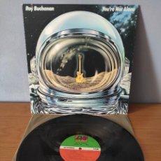 Discos de vinil: ROY BUCHANAN - YOU'RE NOT ALONE. Lote 275130518