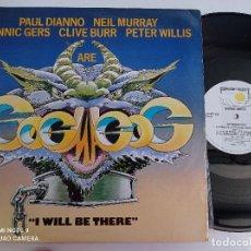 Discos de vinilo: GOGMAGOG - I WILL BE THERE + 2 - UK MAXI SINGLE 1985 // IRON MAIDEN DEF LEPPARD NWOBHM BLACK SABBATH. Lote 275135823