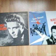 Discos de vinilo: EDDIE COCHRAN GENE VINCENT LOTE CON REGALO !!!!!!. Lote 275137778