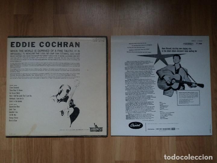 Discos de vinilo: EDDIE COCHRAN GENE VINCENT Lote con regalo !!!!!! - Foto 2 - 275137778