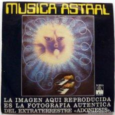 Disques de vinyle: EUGENIO SIRAGUSA: MUSICA ASTRAL - SINGLE - 1976 - ARIOLA - CASI NUEVO (NM / EX). Lote 275142108