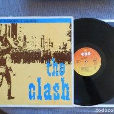 Discos de vinilo: THE CLASH: BLACK MARKET CLASH (SPANISH L.P.) 1981 CBS- MUY RARO !!!!. Lote 275155683