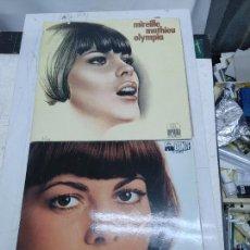 Discos de vinilo: 2 LPS MIREILLE MATHIEU OLYMPIA (FRANCIA) Y MUSIK FUR DICH (GERMANY) DOBLE CARPETA BUEN ESTADO. Lote 275165858