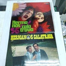Discos de vinilo: 2 LPS HERMANOS CALATRAVA ALELUYA/LA, LA, LA...Y LLORONA -MAÑANA MAÑANA, BUEN ESTADO. Lote 275166138