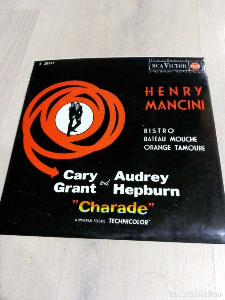 """EP HENRY MANCINI """"CHARADE"""" 1964 (Música - Discos de Vinilo - EPs - Bandas Sonoras y Actores)"""