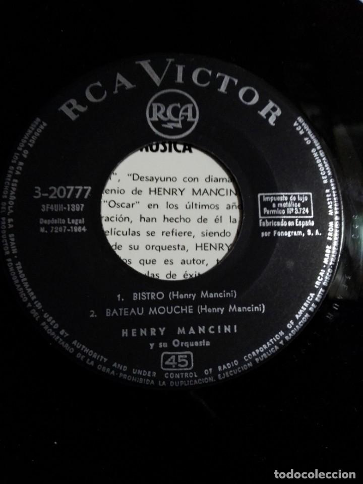 "Discos de vinilo: EP Henry Mancini ""Charade"" 1964 - Foto 3 - 275167758"