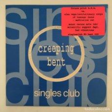 Discos de vinilo: VARIOUS - SINGLES CLUB #5: MEDITATION RAT / BAD VIBRATIONS, UK 1997 CREEPING BENT. Lote 275170078