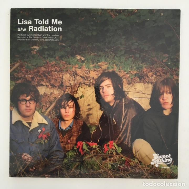 Discos de vinilo: The Hunches – Lisa Told Me, UK 2003 Sweet Nothing Records - Foto 2 - 275170638