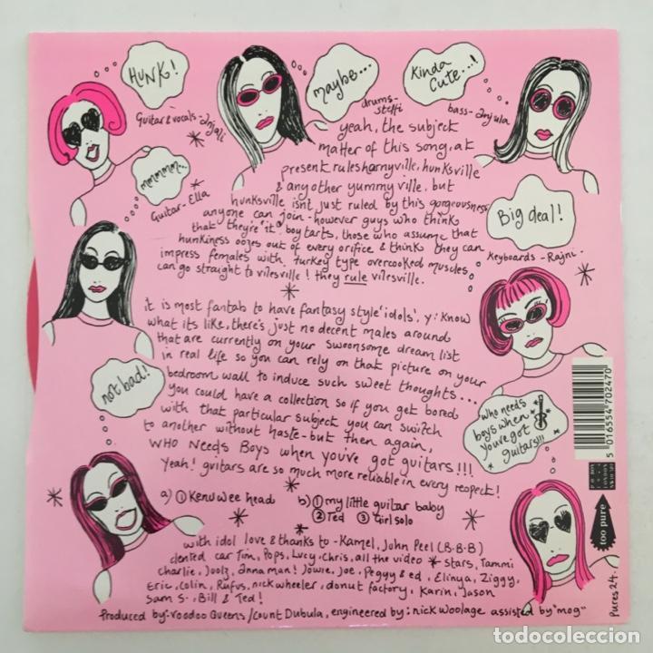 Discos de vinilo: Voodoo Queens – Kenuwee Head, Pink, UK 1993 Too Pure - Foto 2 - 275171508