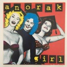 Discos de vinilo: ANORAK GIRL – PLASTIC SUPERMODEL, GREEN, UK 1997 DAMAGED GOODS. Lote 275171948
