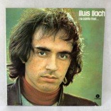 Discos de vinilo: LP - VINILO LLUÍS LLACH - I SI CANTO TRIST - DOBLE PORTADA - ESPAÑA - AÑO 1984. Lote 275221768